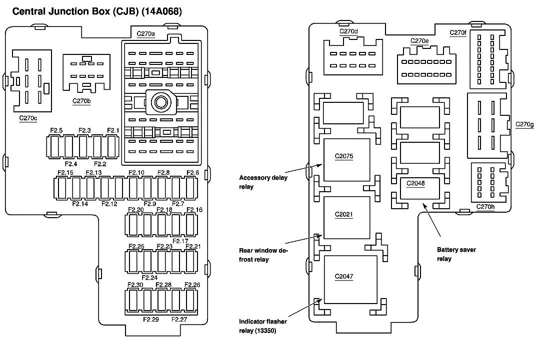 2004 ford explorer radio fuse wiring diagram with description for 1997 ford explorer window problems