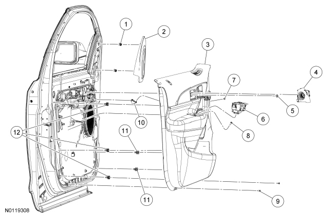 lincoln mkz front diagram
