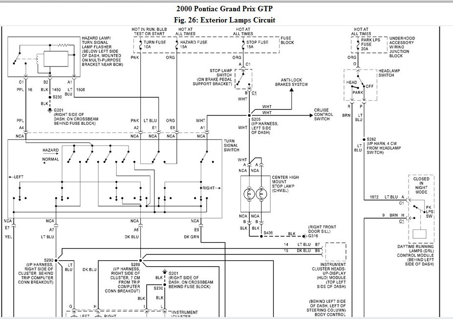 2010 04 16_235044_Capture 2000 pontiac grand prix gtp no dash lights or taillights i checked 2000 grand prix radio wiring diagram at panicattacktreatment.co