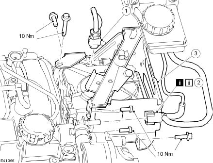 Where is the oil and fuel filters located on a Ford Focus 1.6 sel?