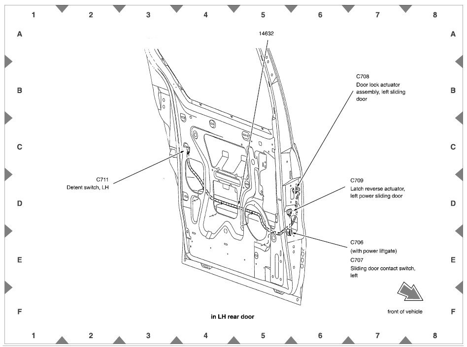 2002 ford windstar door ajar wiring diagram