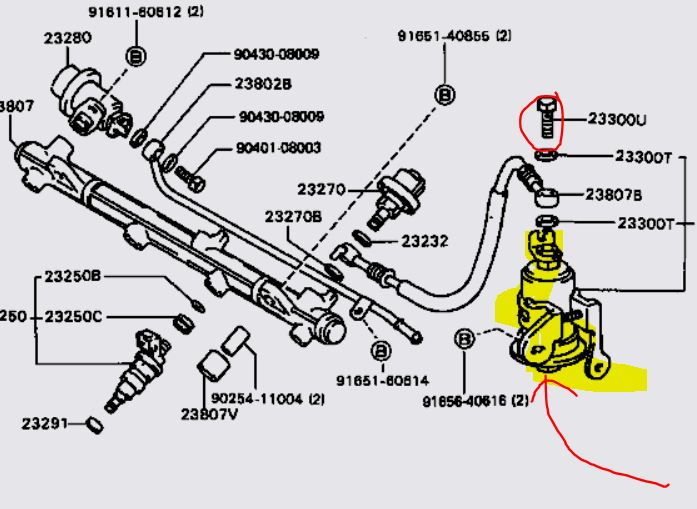 toyota 2002 4 cylinder camry fuel filter location toyota camry fuel filter location #6