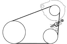 My Wife Has A 2005 Toyota Sienna 33l I'm Not Sure What It's Called. Toyota. 2008 Toyota Sienna Serpentine Belt Diagram At Scoala.co