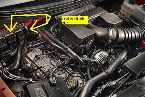2004 F150  Factory  My After Market Tach  Fuse Panel Diagram