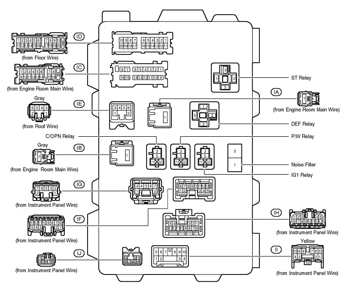 Awesome 2010 Toyota Corolla Wiring Diagram Gallery Electrical