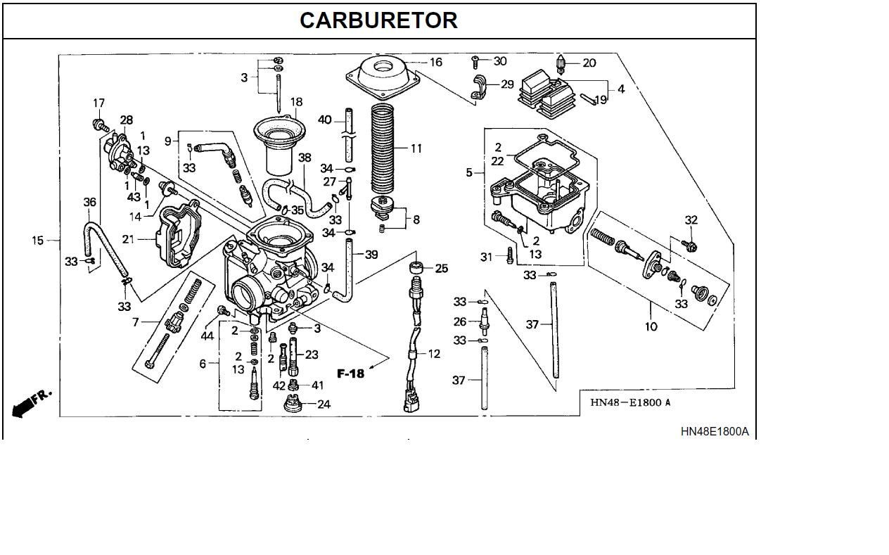 2002 honda 300ex parts diagram html
