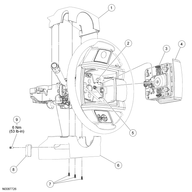2016 ford explorer penger side mirror parts diagram  ford