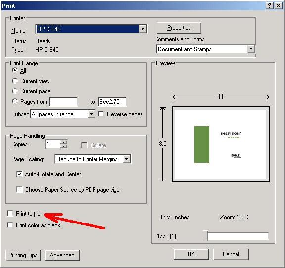 my printer will not print pdf files