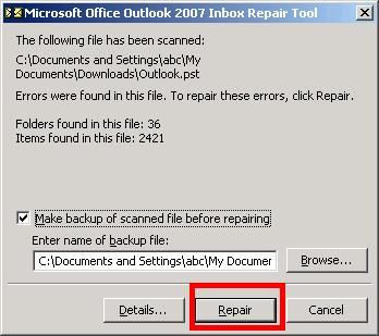 I am having a problem with Microsoft Outlook and have