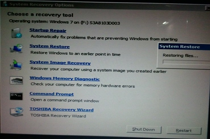 Recover files from imaged hard drive