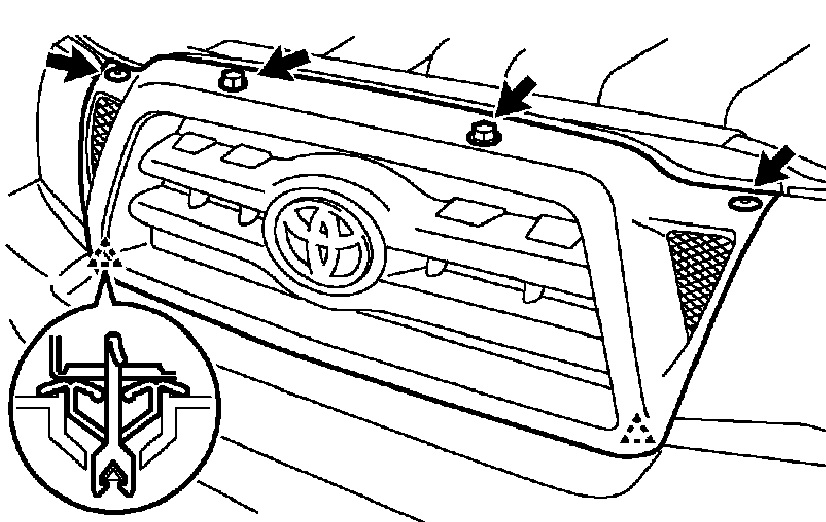 just wondering how to remove my front and rear bumpers on my 2009 toyota tacoma  any diagrams do