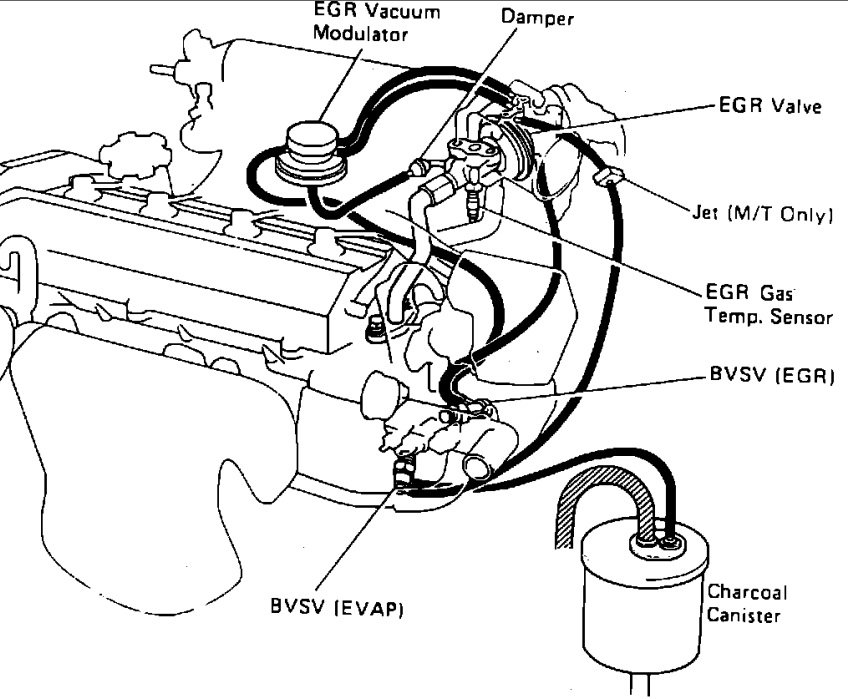 toyota 22re engine diagram within toyota wiring and engine