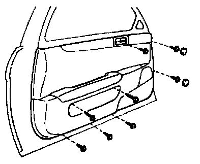 94 Lexus Sc400 What Are The Steps Involved To Remove A Door Panel