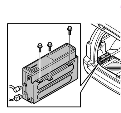 3tpub Factory Mounts Optional 10 Cd Changer