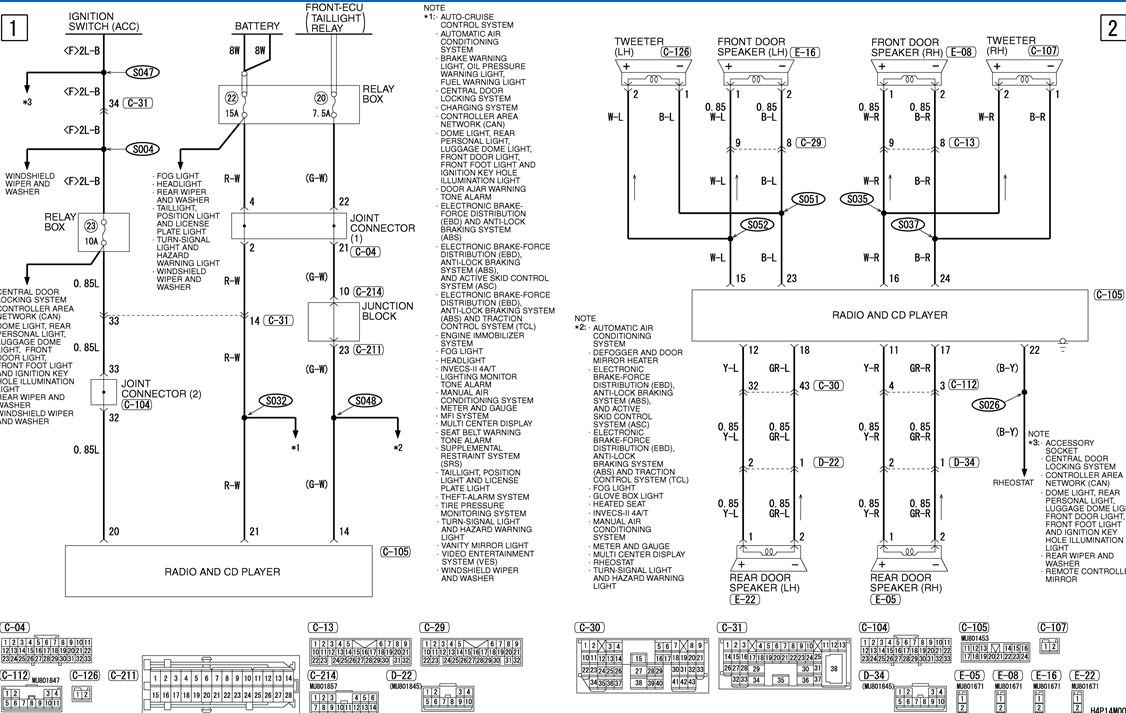 I Need A Wiring Diagram For Stereo    Radio 2004 Endevor