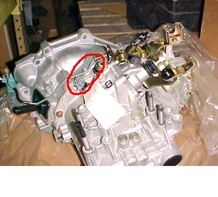 Where is the back up switch located on a 2001 mitsubishi ...