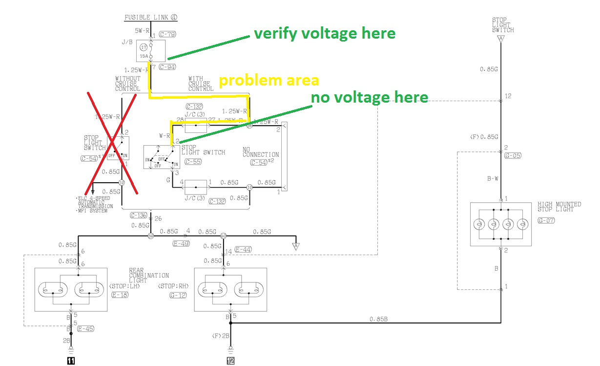 2001 Montero Brake System Wiring Diagram Opinions About Gmc Sierra Trailer Controller I Have A 1998 With No Lights Rh Justanswer Com 2010