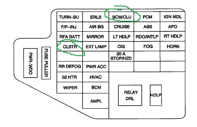 2002 pontiac sunfire cluster radio wiring diagram 49 1996 Pontiac Sunfire Parts 1996 Pontiac Sunfire Troubleshooting
