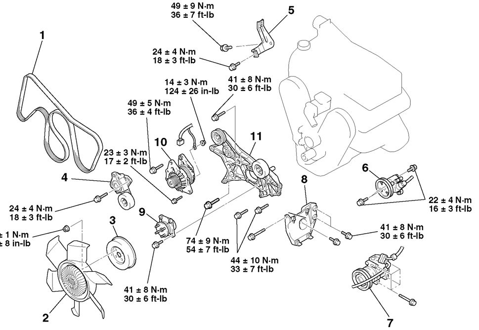 mitsubishi eclipse sensor locations