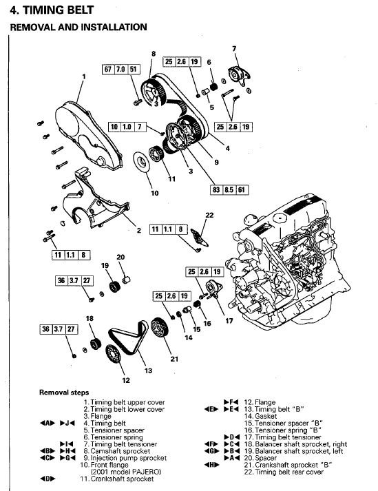 mitsubishi adventure engine diagram  mitsubishi  auto