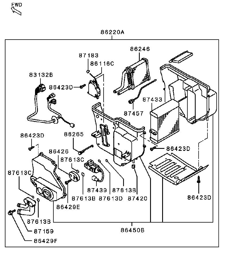 ford mustang engine parts diagram