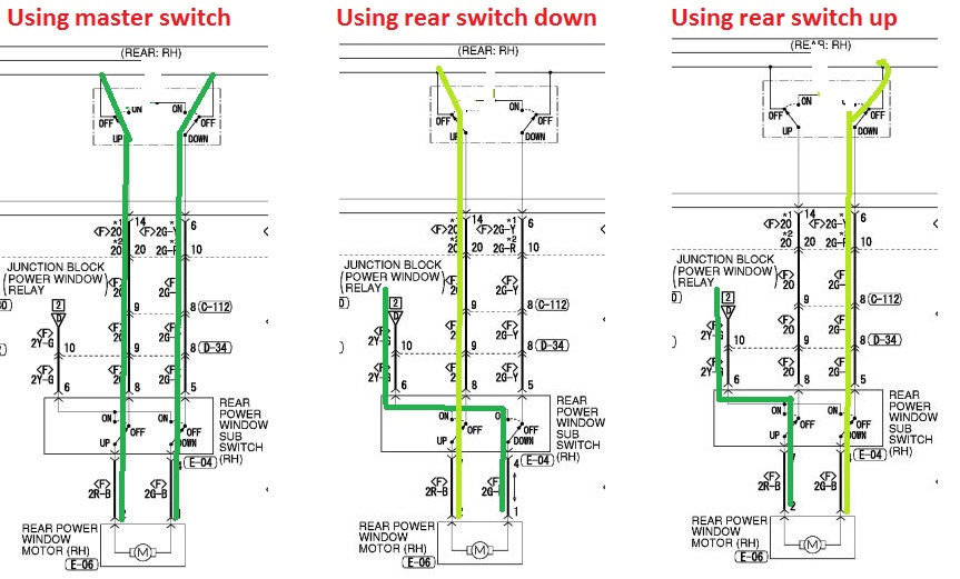 2004 mitsubishi endeavor window wiring diagram wiring diagrams rr window not working on a 2005 mitsubishi endeavor any ideas goes rhjustanswer 2004 mitsubishi asfbconference2016 Gallery
