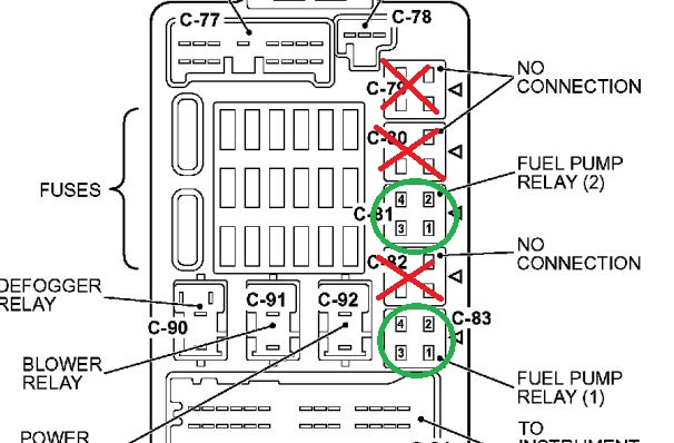 wondering how to reset the computer on a 2003 galant a 2003 Mitsubishi Galant Fuse Box