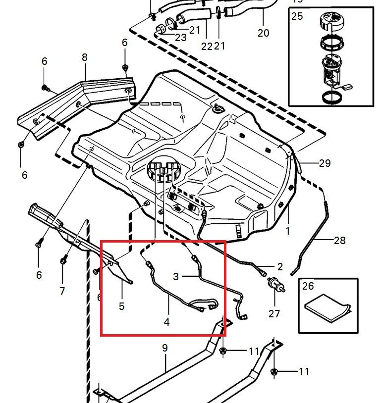 2005 volvo xc90 suspension diagram