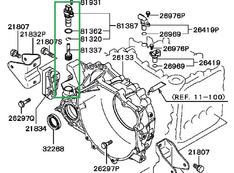 on this same mitsubishi galant the speedometer start to suddenly go rh justanswer com 1500 Speed Ram Sensor Wiring1995dodge Speed Sensor Wiring 300SD