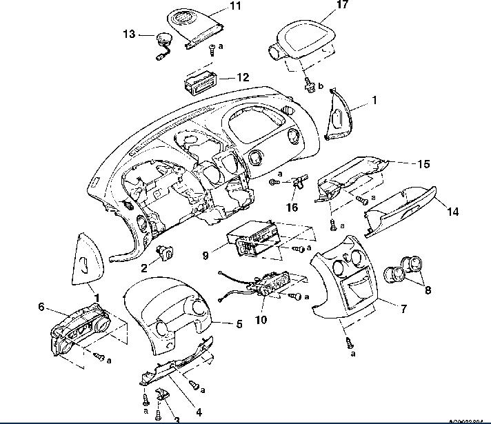 service manual  2003 mitsubishi eclipse removal diagram