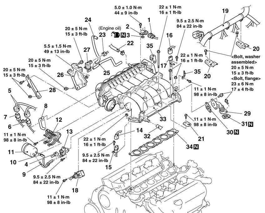 Capture on 2002 Mitsubishi Galant Vacuum Hose Diagram
