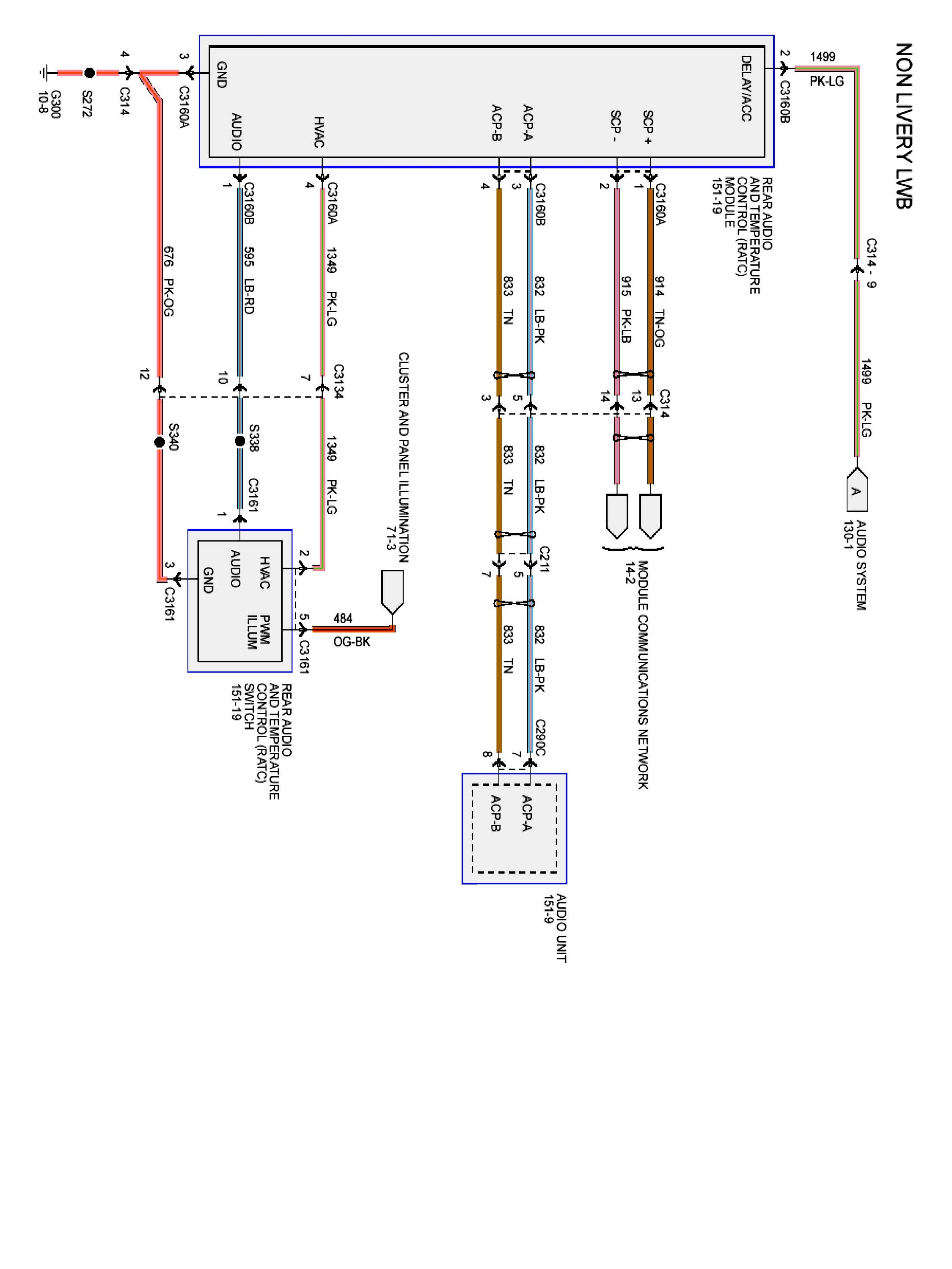 Looking For Radio Wire Diagram 2009 Lincoln Town Car