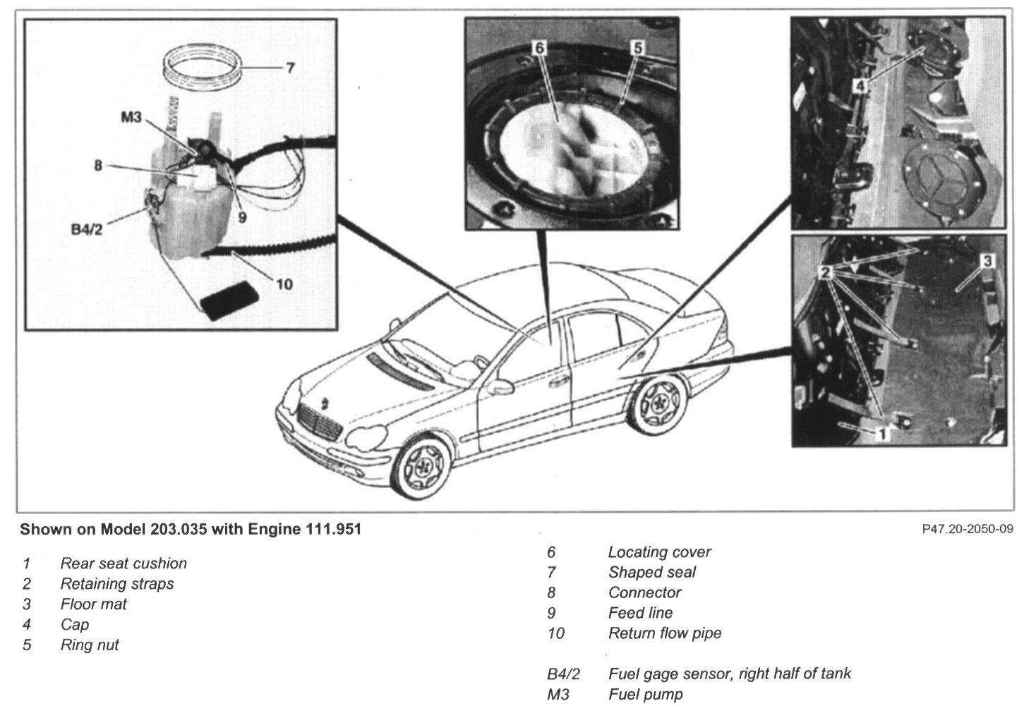 Mercedes Fuel Pump Problems