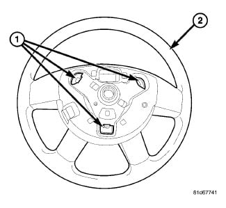 How to remove steering wheel horn pad?