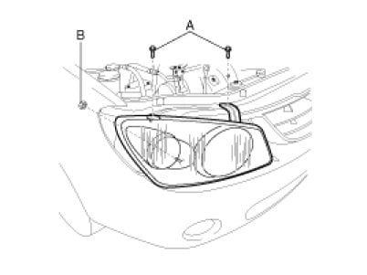 kia optima headlight diagram infiniti m37 headlights