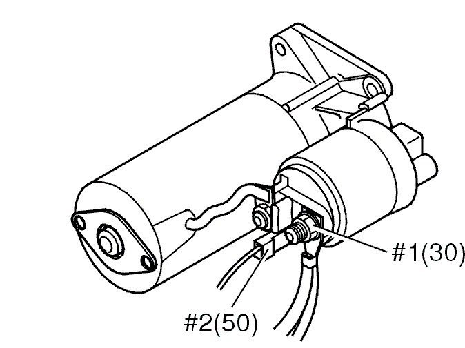 2001 Volvo Starter Wiring