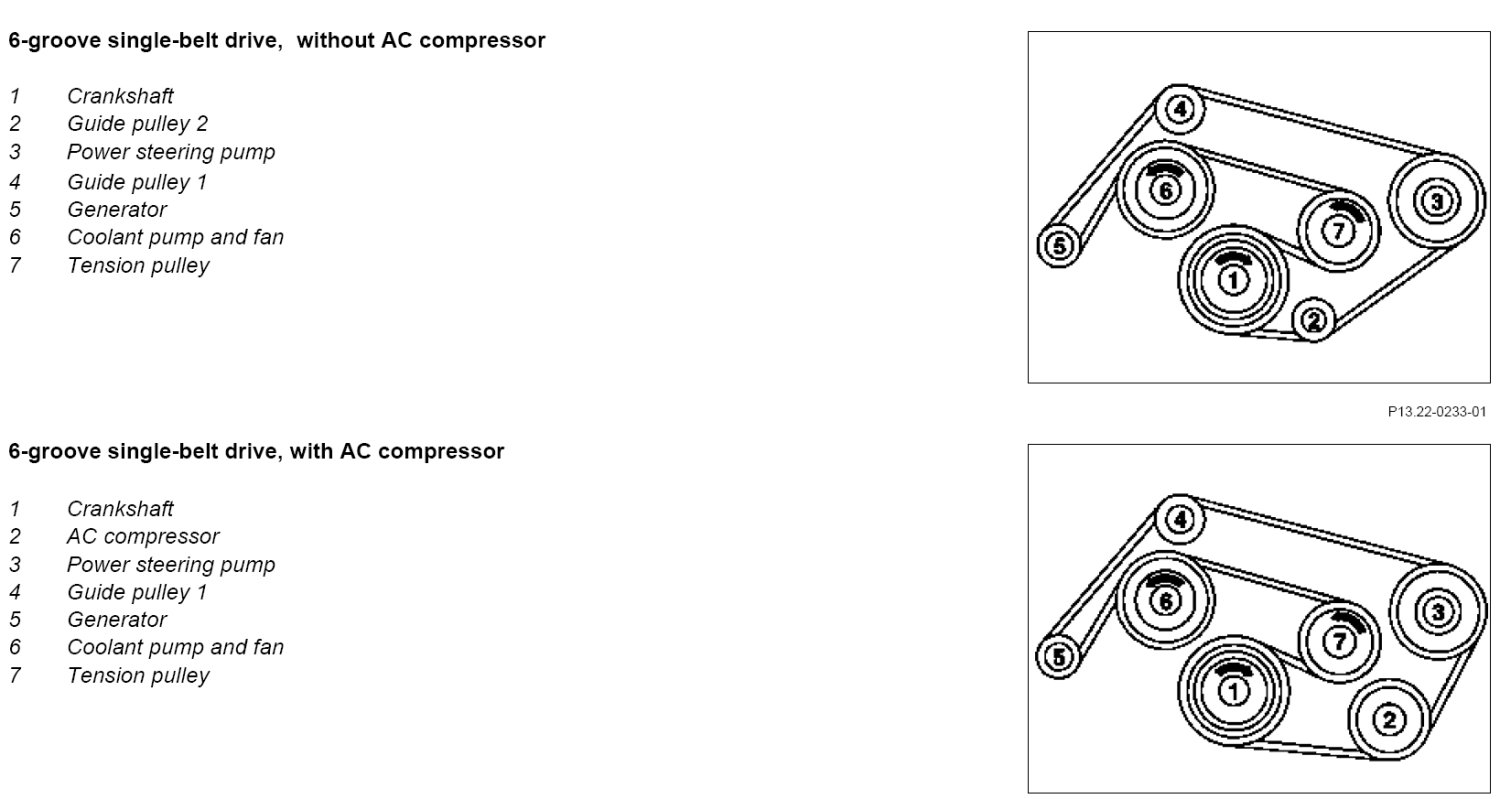2002 mercedes c240 serpentine belt diagram