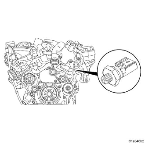 I Need To Locate The Oil Pressure Switch On A 2008 Mercedes Sprinter