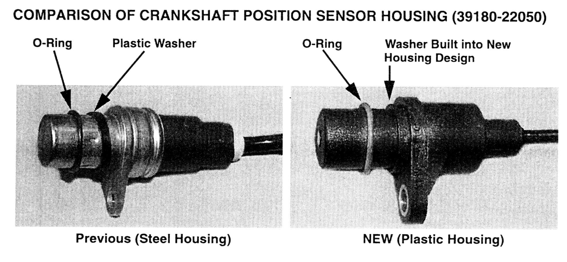 Where Is Crankshaft Sensor On 1998 Hyundai Excel  And How