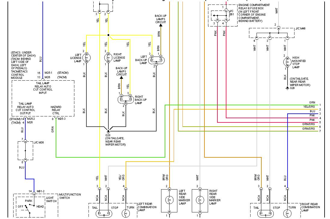 Dashclock Wiring Diagram For 2002 Hyundai Elantra Trusted 2003 Fuse 1 6lit 5sp Std Various Electrical Problems Wipers Go 2001 Diagrams