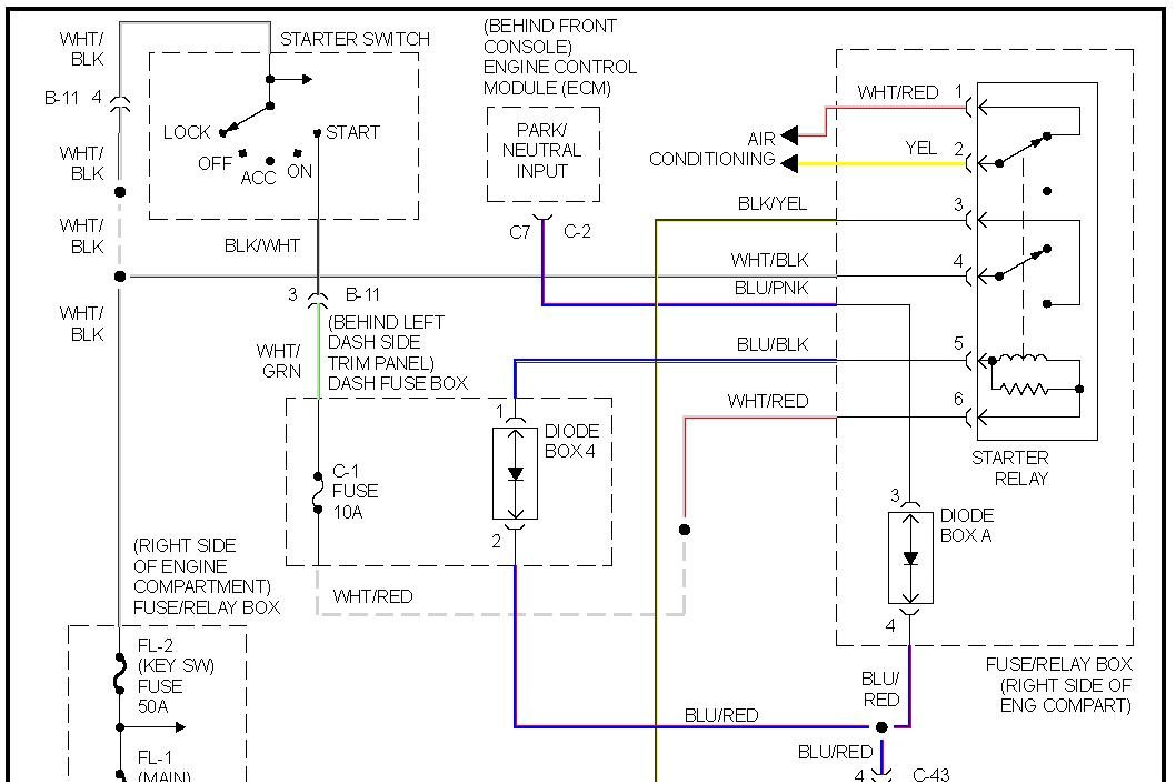 radio wiring schematic for 1993 isuzu trooper i just got a 1995 isuzu trooper and it wont start. i think ... 1993 isuzu trooper fuse box