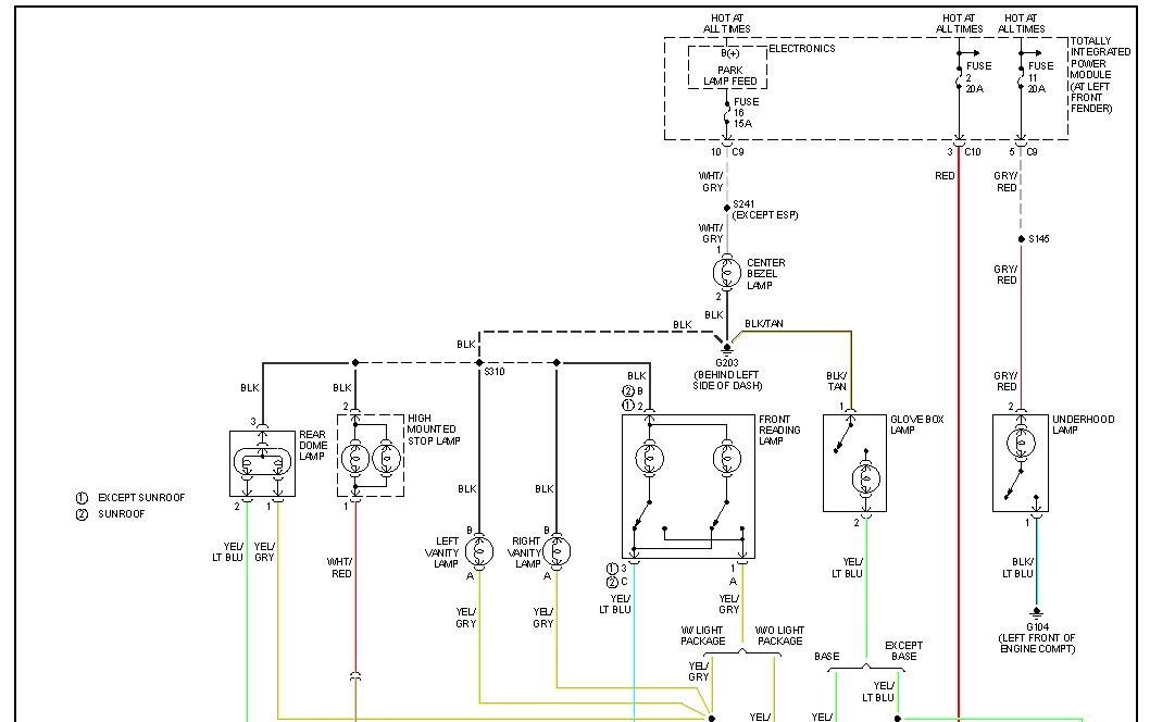 2003 Dodge Ram 2500 Diesel Trailer Wiring Diagram : Dodge ram trailer wiring diagram