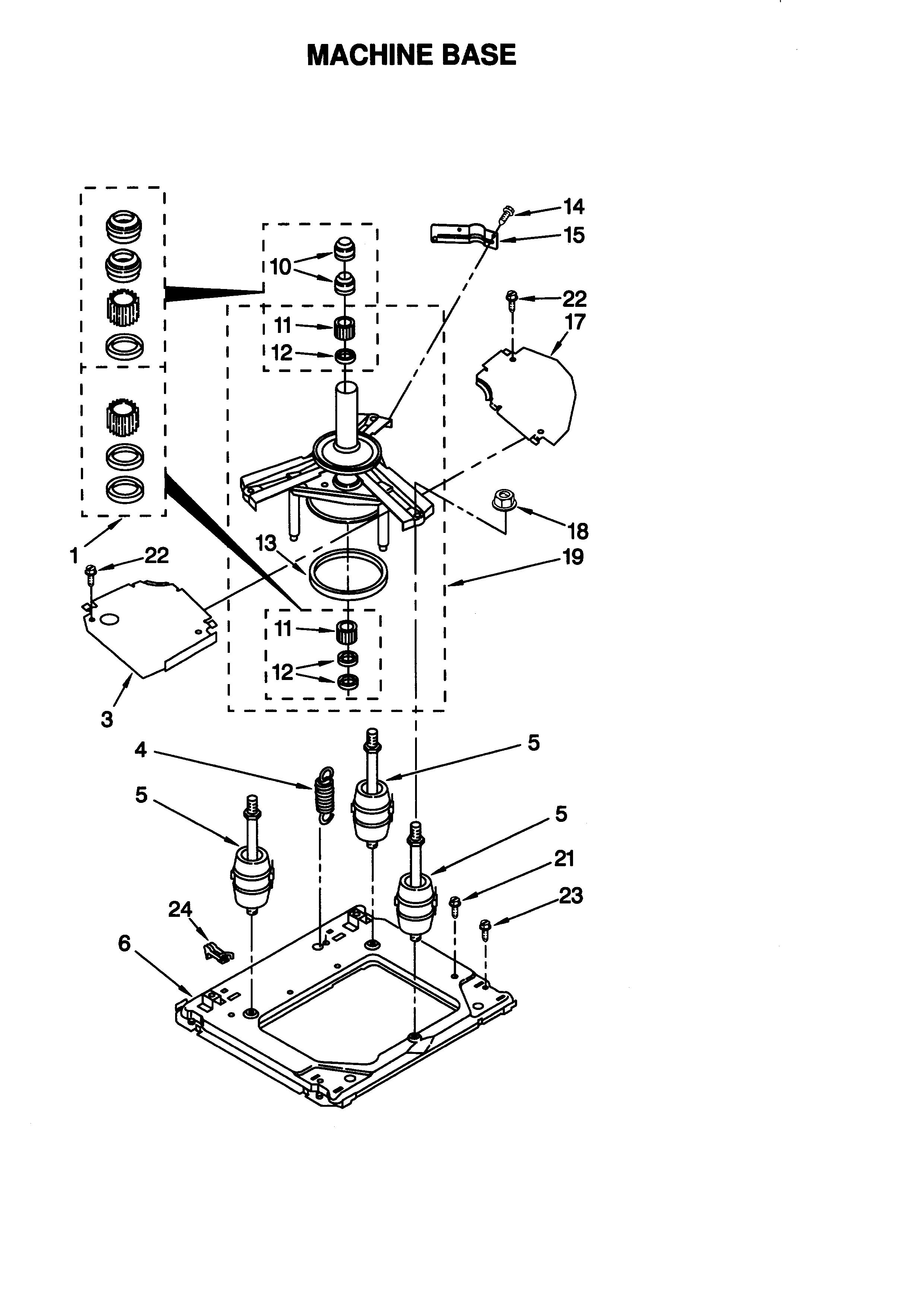 Whirlpool thin twin wiring diagram
