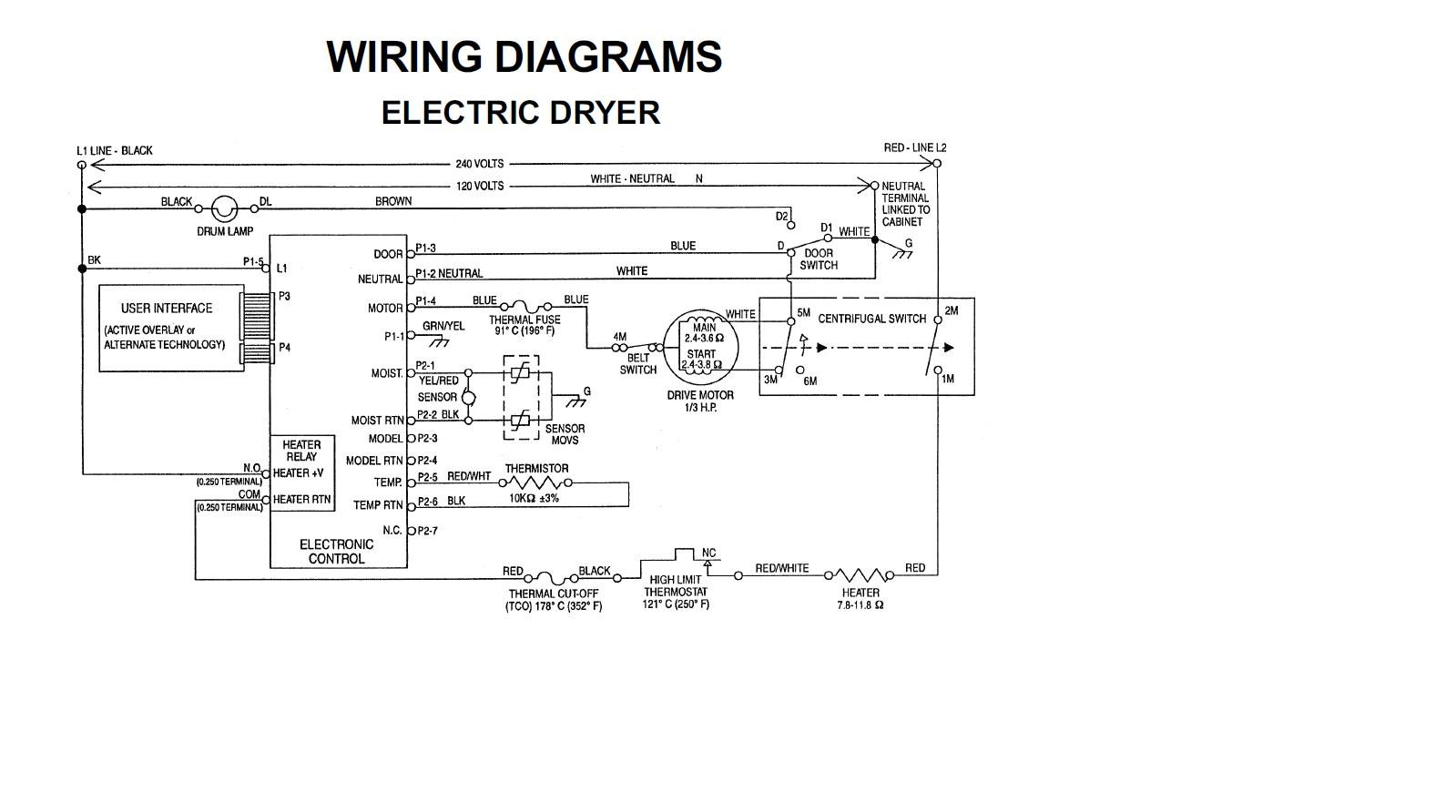 whirlpool dryer electrical schematic i have whirlpool front loader dryer gew9250pw0 need to ...