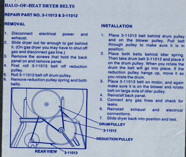 I have an old Maytag DE606 dryer that started to smell like ... De Maytag Wiring Diagram on