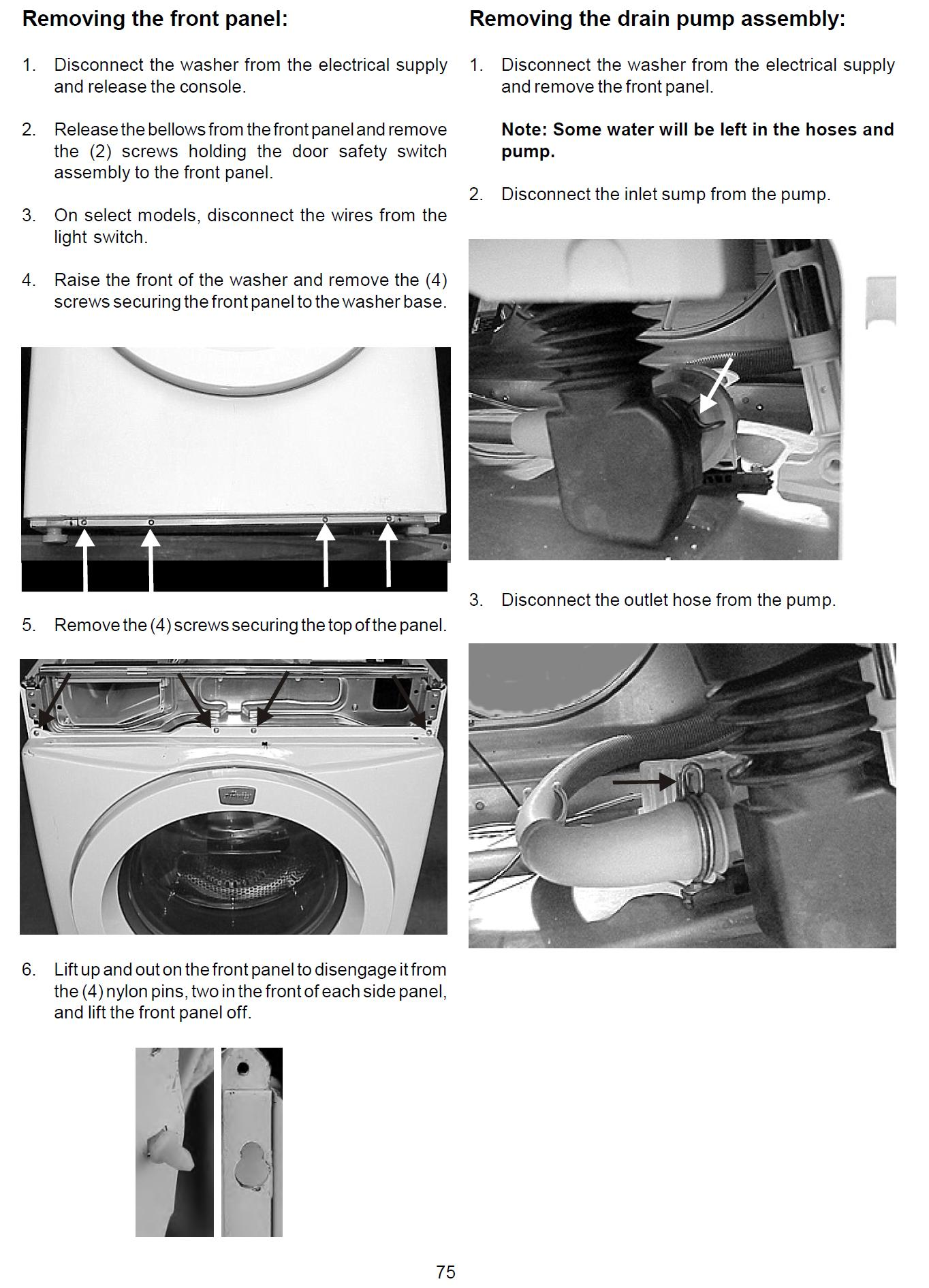 Aeg Electrolux Washing Machine Wiring Diagram Service Manual Circuit