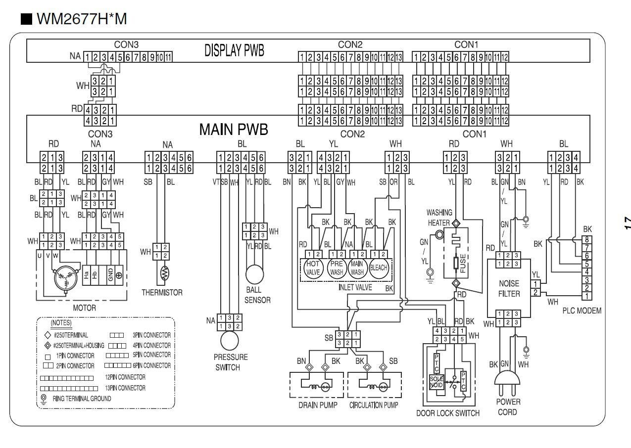 Circuit Diagram Of Washing Machine Wiring Will Be A Thing Electrolux Block The Timer