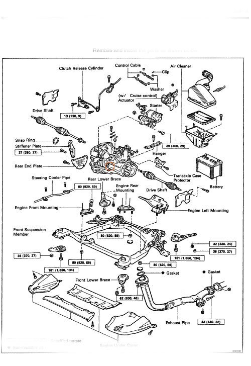 2000 Toyota 4runner Belt Diagram Wiring Schematic