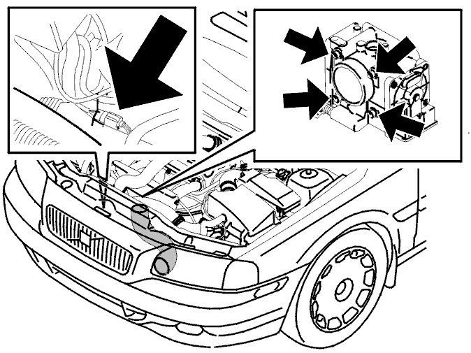 How To Remove And Replace A Throttle Body On A Volvo