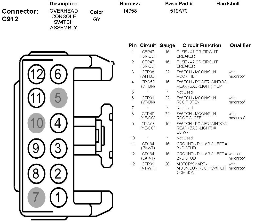 Need A Complete Overview Wiring Diagram For The C912 Nine